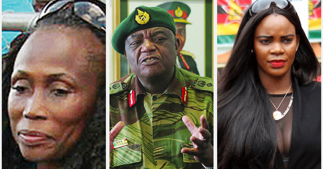 Zimbabwe vice-presidents estranged wife charged with his
