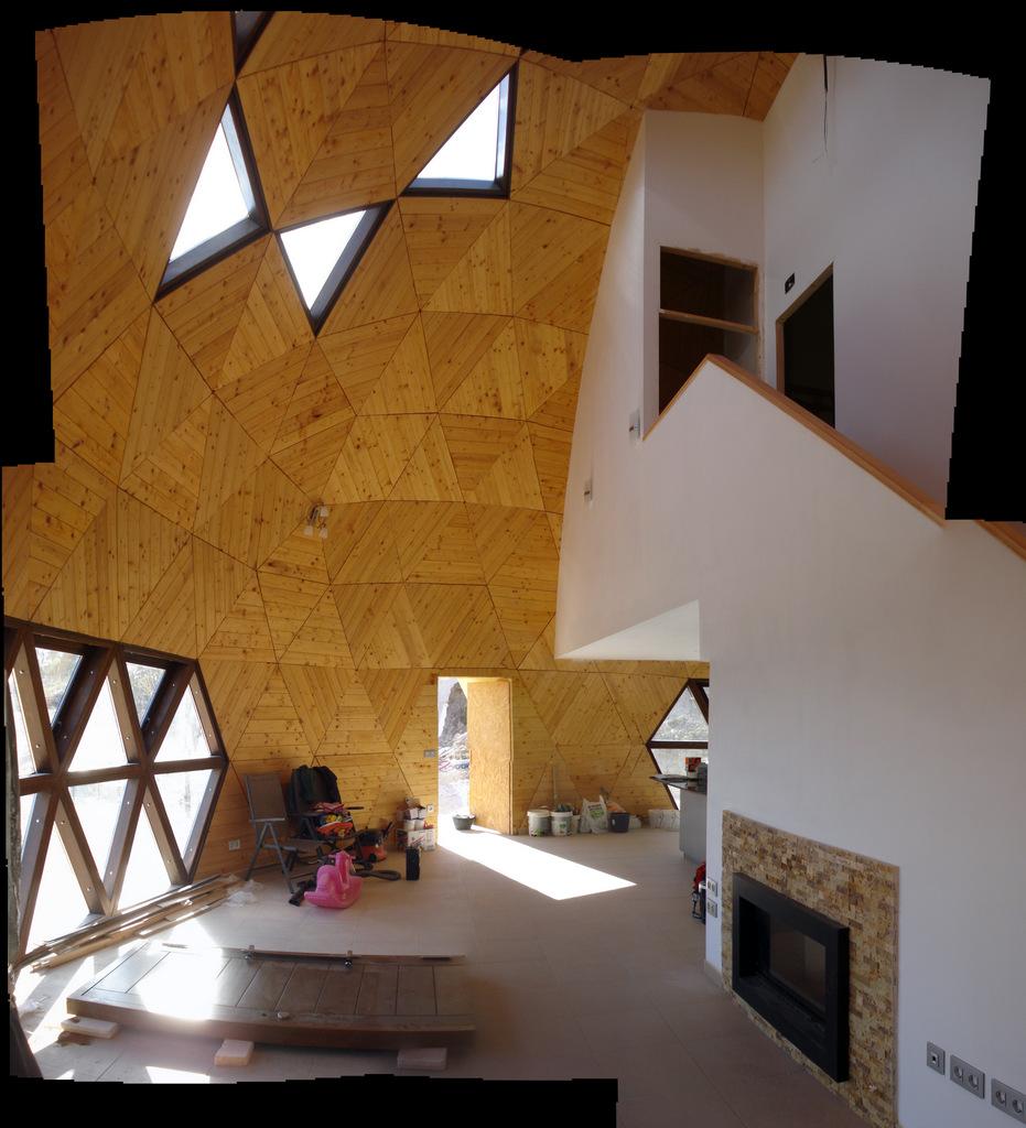 Mendikatea las ventajas de una casa geod sica - Casas geodesicas ...