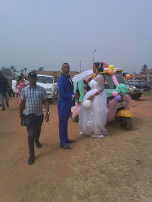 Edo politician, Wedding, Tricycle