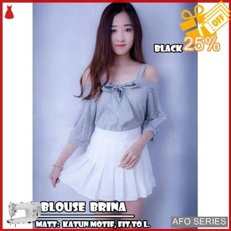 AFO591 Model Fashion Blouse Brina Modis Murah BMGShop