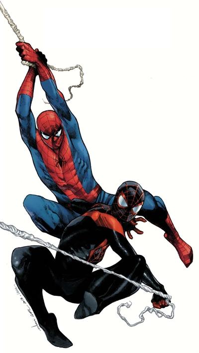 SPIDERMAN - Todos sus trajes y versiones diferentes y alternativos ...