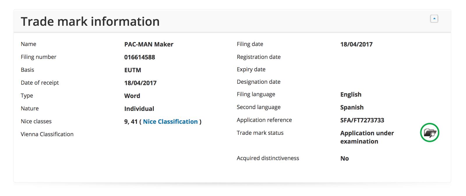 Se registra Pac-man Maker, ¿qué será?, huele a creador de mapas