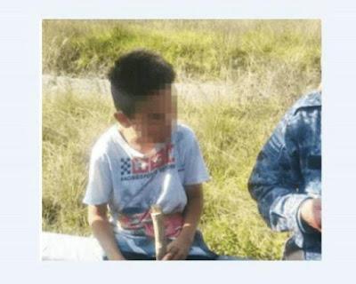 Encuentran a niño en carretera México-Pachuca; un familiar lo dejó solo