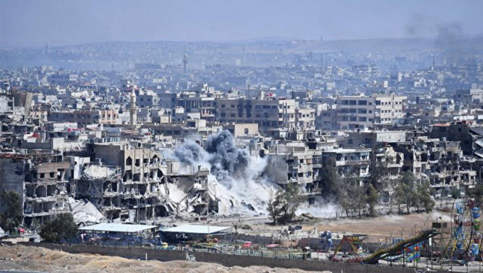 Amerika punya cara sendiri membasmi teroris di Suriah