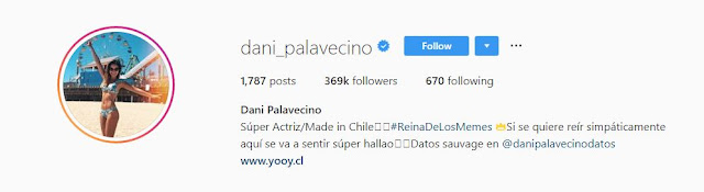 Daniela Palavecino instagram Wiki | Biography | Age | Height | Weight | images