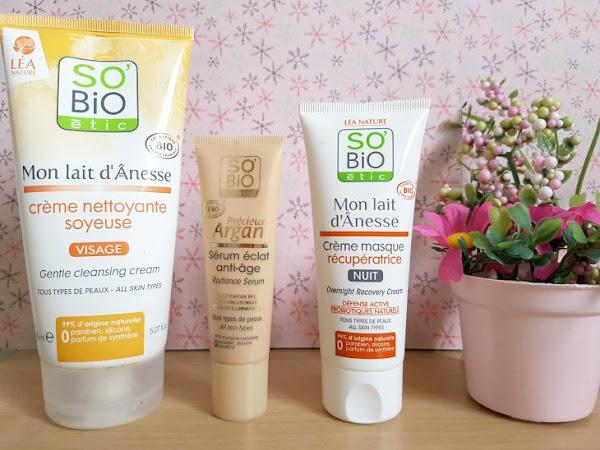 3 chouettes produits So Bio Etic !
