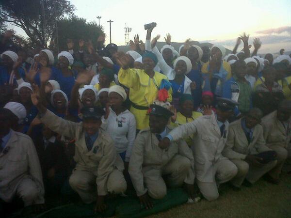 Dr Be Lekganyane: Neal And Pray: MLUNGU IN MORIA: Joining THREE MILLION On