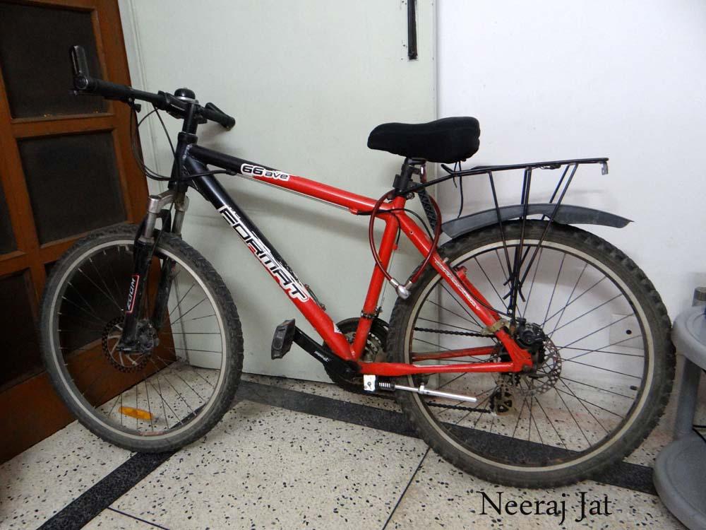 लद्दाख साइकिल यात्रा के तकनीकी पहलू