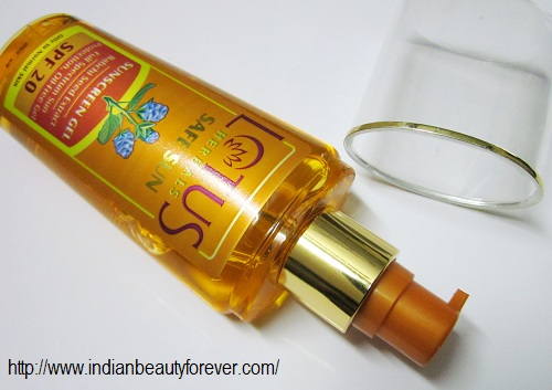 lotus herbals safe sun sunscreen gel