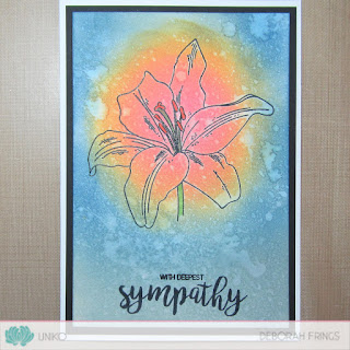 With Deepest Sympathy sq - photo by Deborah Frings - Deborah's Gems