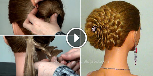 Learn - How To Make Easy Party Occasional Hairstyle, See Tutorial