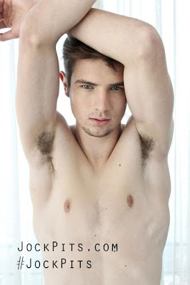 Young Man's Hairy Armpits