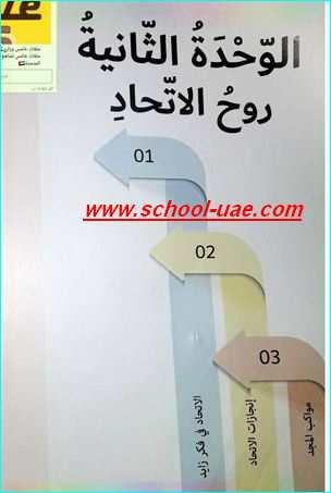حل كتاب الاجتماعيات الصف الخامس فصل اول 2019 - مدرسة الامارات