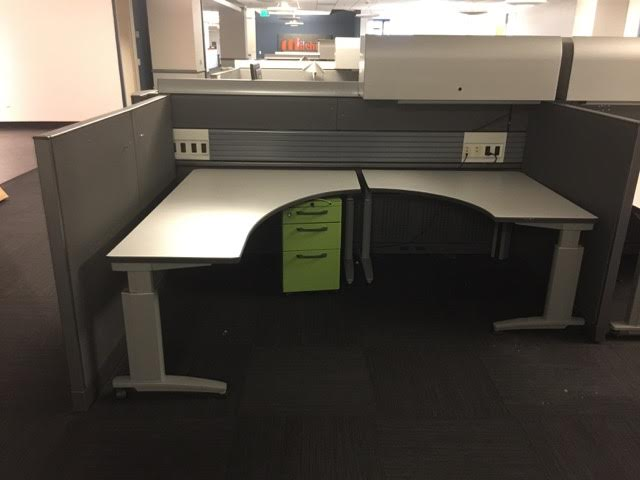 Knoll Currents, used cubicles