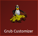 Grub Customizer icono