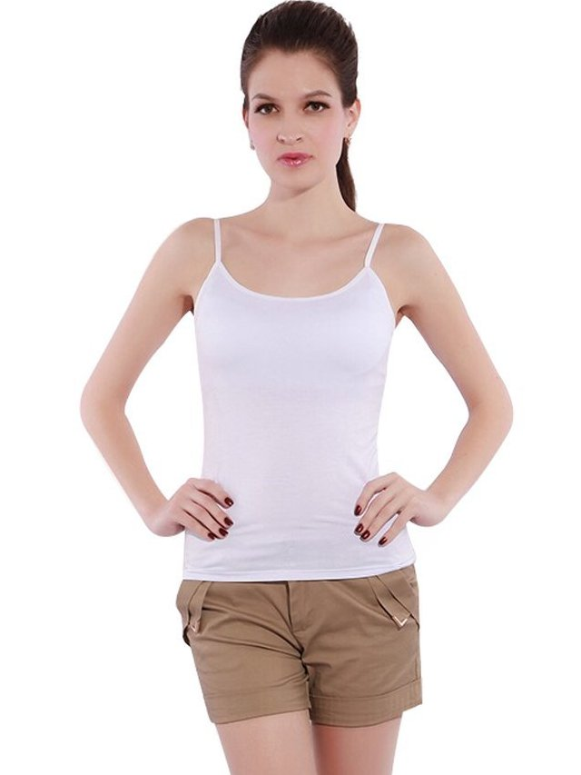 d63fee40d5b63 20 Best Cotton Shelf Bra Camisoles in 2019