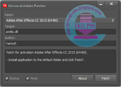 Universal Adobe Patcher 1.5 Terbaru