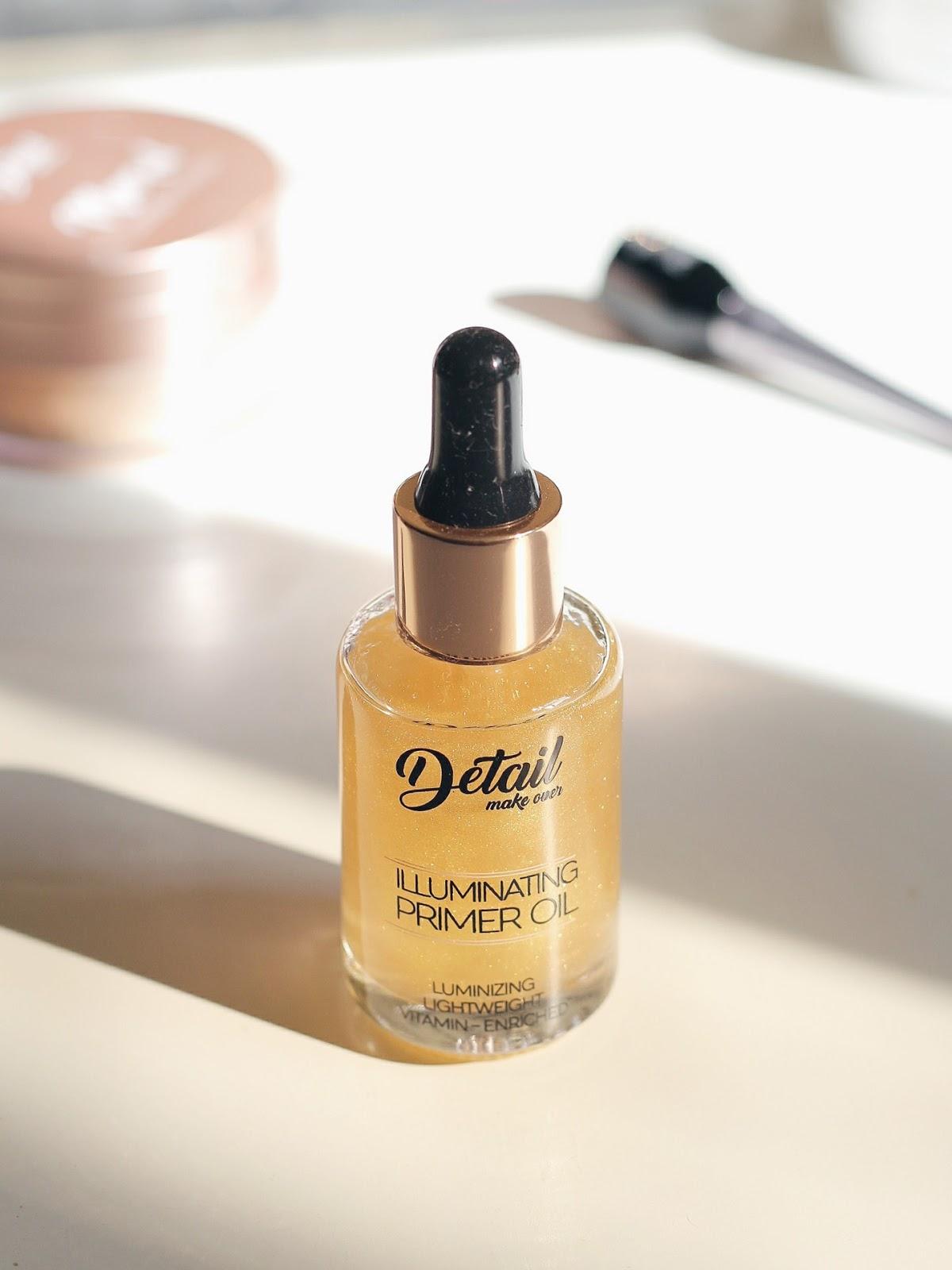 Detail Makeover Illuminating Primer Oil Review