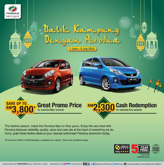 Promosi Perodua Raya 2016