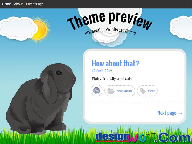 Bunny WordPress Theme