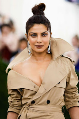 Priyanka Chopra Top Knot