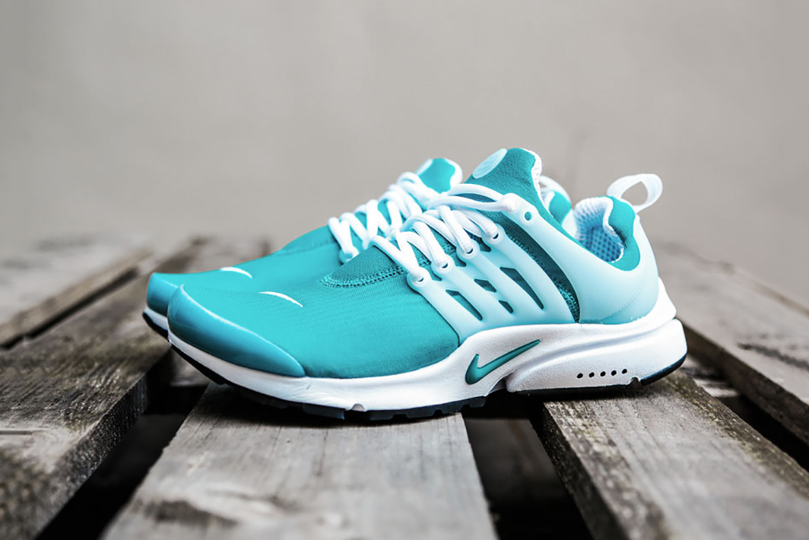 5c9b0211a703 Rio Teal White is the latest colorway presented by Nike for the Air Presto  model. Donning a bright teal blue hue across its sock-like
