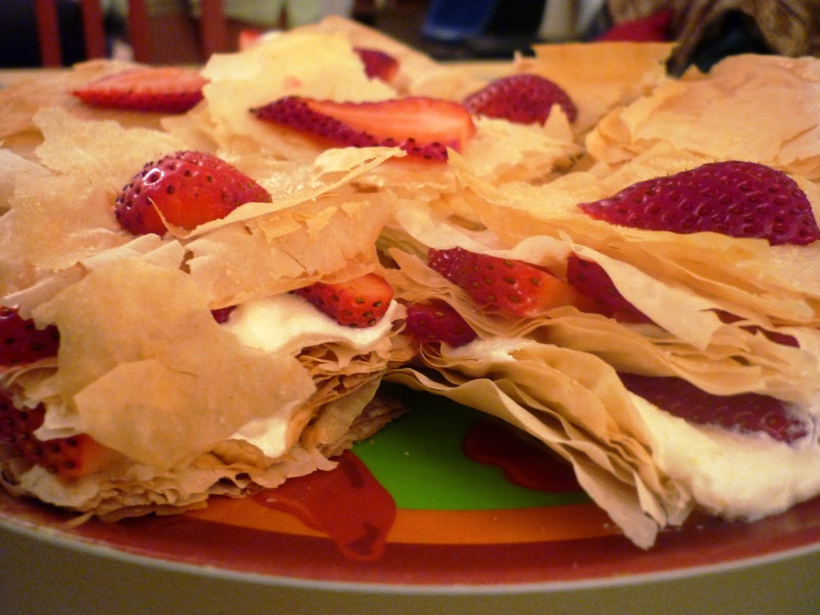 Spirituality   and Cake : Mille-feuille Cake Recipe