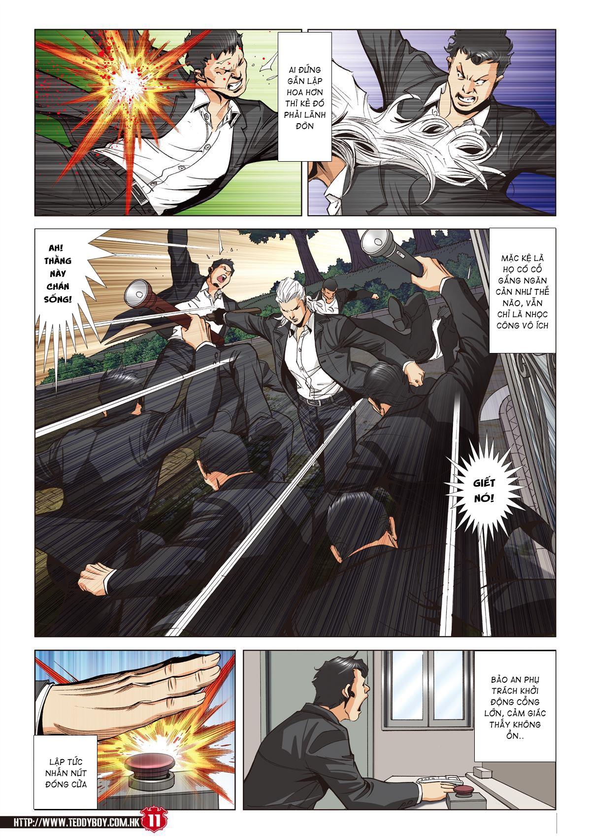 Người Trong Giang Hồ chapter 2067: ánh tỉ làm phản trang 9