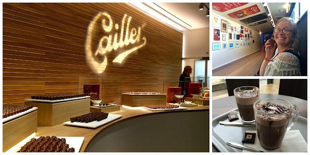 Maison Cailler Chocolate Factory, Broc Fabrique, Gruyère, Switzerland