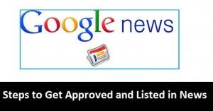 كيفية قبول موقع / مدونة في أخبار Google