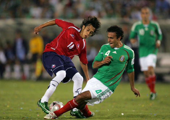 México y Chile en partido amistoso, 24 de septiembre de 2008