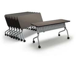 Mayline Sync Flip Top Tables