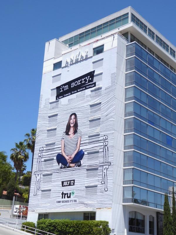 Giant Im Sorry series premiere billboard