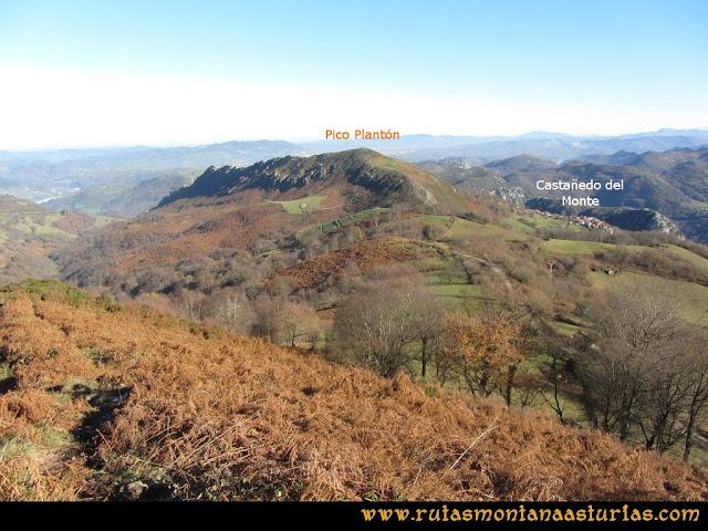Area Buyera, picos Grandamiana y Plantón: De Grandamiana al Plantón