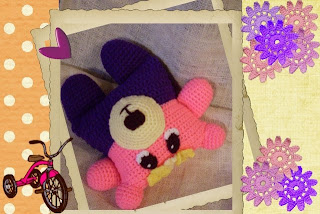 pansy flowerumi bear toy pattern