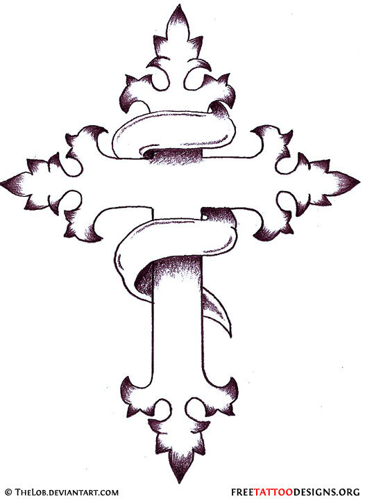 christian cross tattoo designs (14)