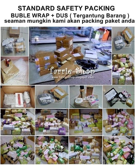 Standard Packing Barang Tarrie Online Shop