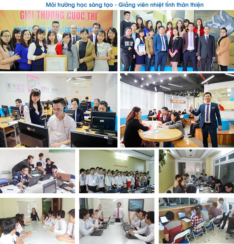 hình ảnh học viên khoá học thiết kế đồ hoạ tại Trung Văn - Hà Đông -Hà Nội