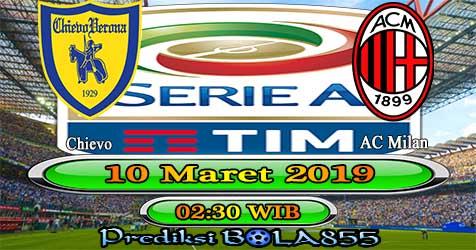 Prediksi Bola855 Chievo vs AC Milan 10 Maret 2019
