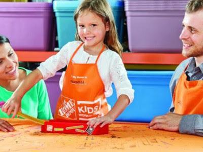 workshops for Home Depot Classes