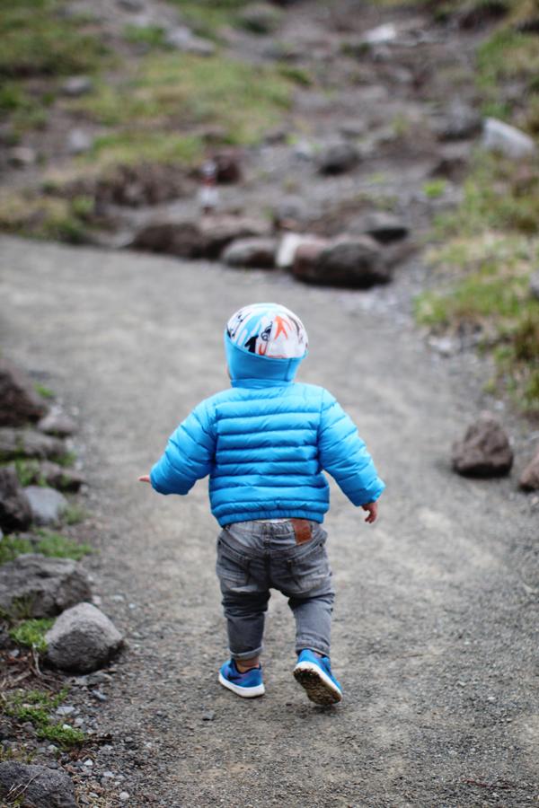 Baby Patagonia puffer jacket