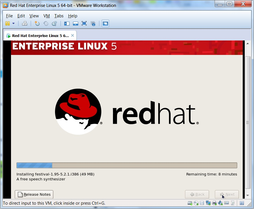 How to install Redhat Linux on vmware workstation ? - UnixArena