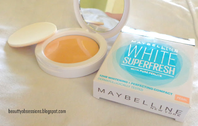 Maybelline White Super Fresh Compact Powder 'Pearl' Review