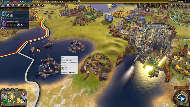 Screenshot from Sid Meier's Civilization VI: Rise and Fall