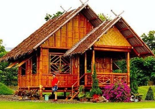 Picture of nipa house house and home design for Modern nipa hut house design