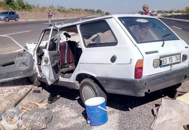 Bozova'da trafik kazası: 3 ölü 4 Yaralı