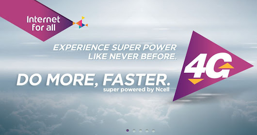 What can Ncell 4G do?