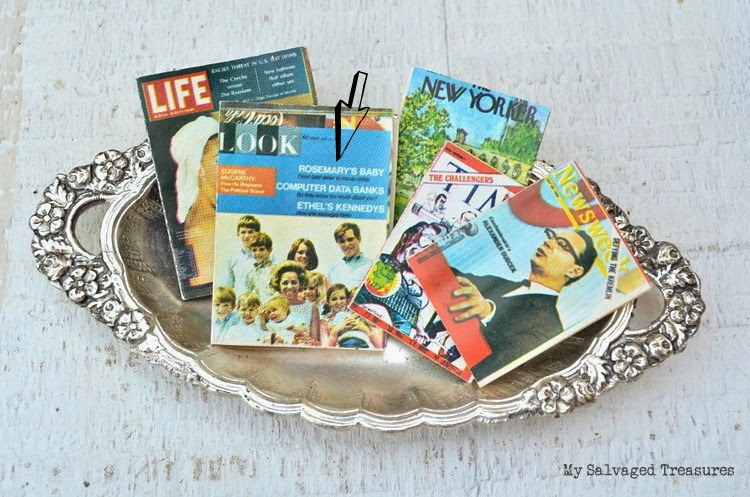 miniature Life magazine, Look magazine, Time Magazine