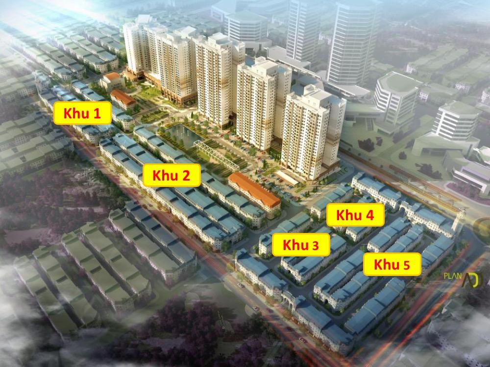 Thông Tin Tổng Quan Dự Án The K Park Văn Phú