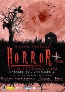 SINENG PAMBANSA HORROR FILM FESTIVAL 2014